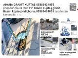 Kocaeli Grand küptaş granit küptaş bazalt